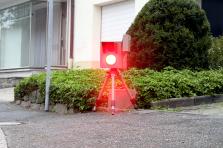 Blitzer LED Licht Bußgeldbescheid